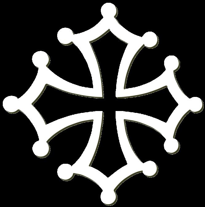 Croix occitane domaine ND blanche